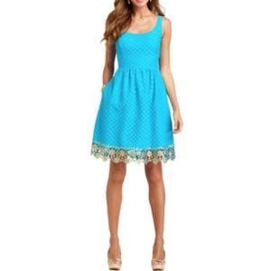 SALE \Lilly Pulitzer\• Java Dot Dot Dot Lace Dress